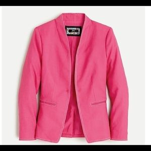NWT J.  Crew Women's Going Out Blazer Pink Size 0